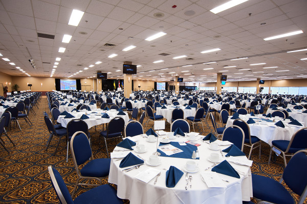 Queensbury Convention Centre - Credit REAL:Evraz Place